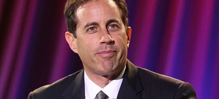Jerry Seinfeld closeup in Chicago show this December
